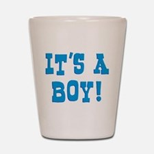 It's A Boy Shot Glass