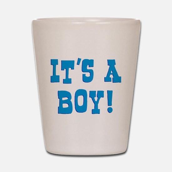 It's A Boy Shot Glass