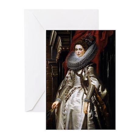 Portrait of Marchesa Brigida Greeting Cards (Pk of