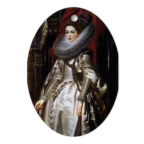 Portrait of Marchesa Brigida Ornament (Oval)