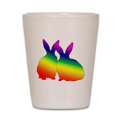 Bunny Love Shot Glass