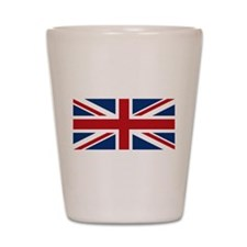 United Kingdom Union Jack Flag Shot Glass