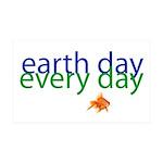 Fun Earth Day 38.5 x 24.5 Wall Peel