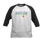 Fun Earth Day Kids Baseball Jersey