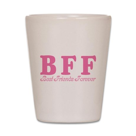 Best Friends Forever BFF Shot Glass