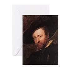 Self Portrait 1628 Greeting Cards (Pk of 20)