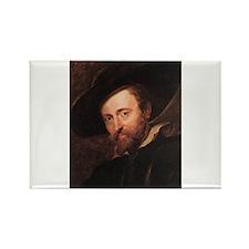 Self Portrait 1628 Rectangle Magnet