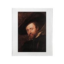 Self Portrait 1628 Throw Blanket