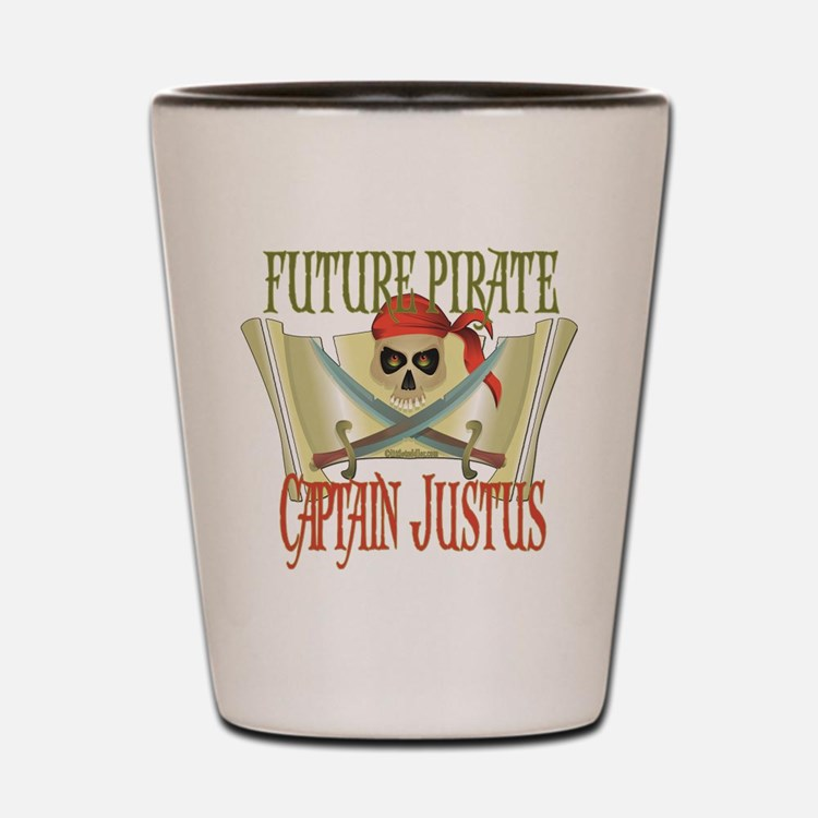 Captain Justus Shot Glass