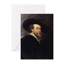 Self Portrait 1623 Greeting Cards (Pk of 20)