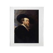 Self Portrait 1623 Throw Blanket