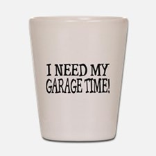 Garage Time Shot Glass