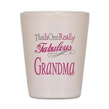 Fabulous Grandma Shot Glass