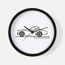 Triumph TR2 Rag Wall Clock
