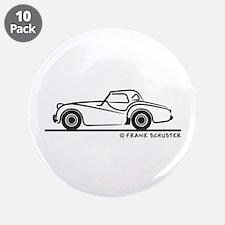 """Triumph TR2 Rag 3.5"""" Button (10 pack)"""