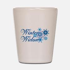 Winter Widow Shot Glass