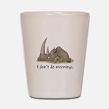 Lazy Rhino Shot Glass