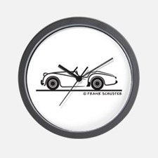 Triumph TR2 Roadster Wall Clock