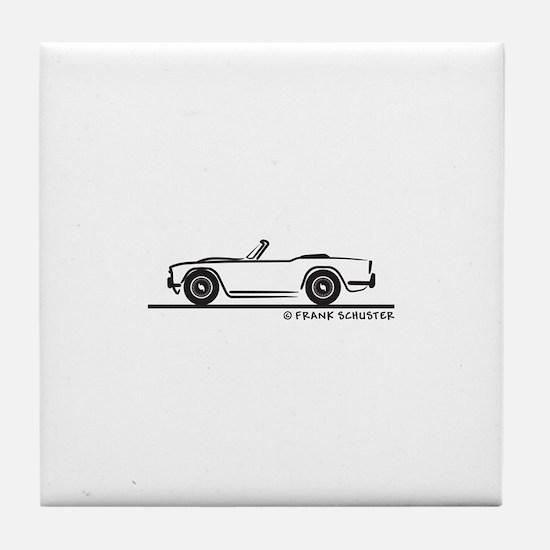 Triumph TR4 Tile Coaster
