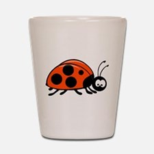 Lady Bug Shot Glass
