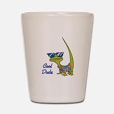 Cool Dude Lizard Shot Glass