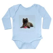 Cairn Terrier Long Sleeve Infant Bodysuit