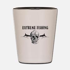 Extreme Fishing Shot Glass