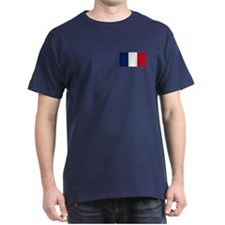 French Flag T-Shirt (Dark)