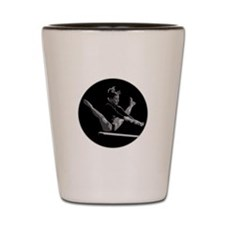 Gymnastics Circle Design Shot Glass