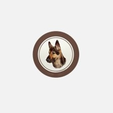 Cute Swedish shepherd Mini Button