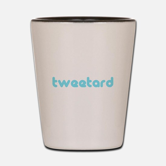 tweetard Shot Glass