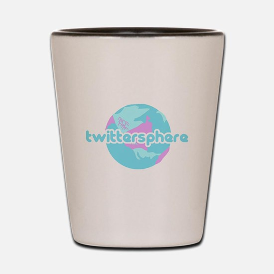 Twittersphere Shot Glass