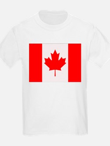 Canadian Flag Kids T-Shirt