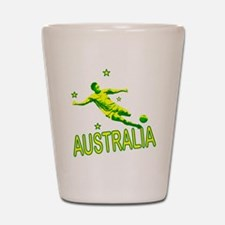 Australia Soccer 2010 Shot Glass