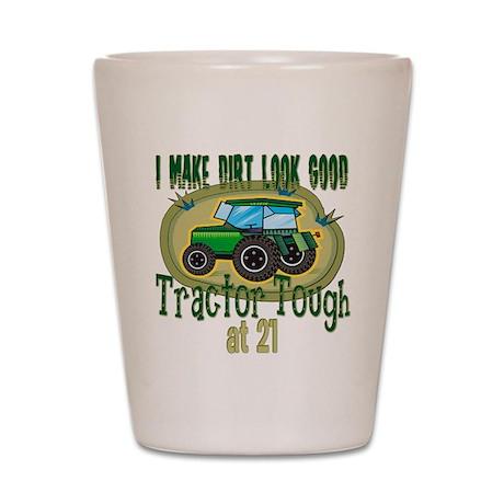 Tractor Tough 21st Shot Glass