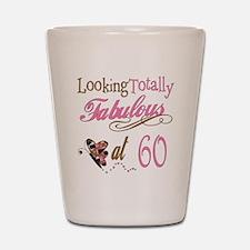 Fabulous 60th Shot Glass