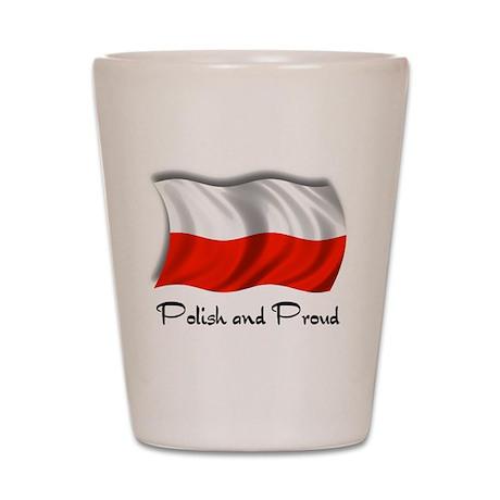 Polish and Proud Shot Glass
