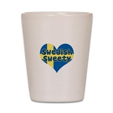 Swedish Sweety Shot Glass