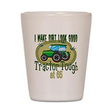 Tractor Tough 65th Shot Glass