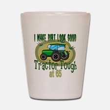 Tractor Tough 65th Shot Glass