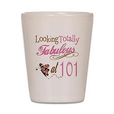 Fabulous 101st Shot Glass