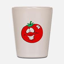 Happy Tomato Face Shot Glass
