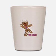 Oh Snap Gingerbread Cookie Shot Glass