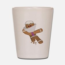 Funny Gingerbread (Ginger Sna Shot Glass