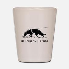 dogwetrust Shot Glass