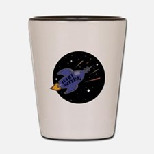 Planet Earth Day Rocket Shot Glass
