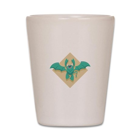 Gargoyle Bat Shot Glass
