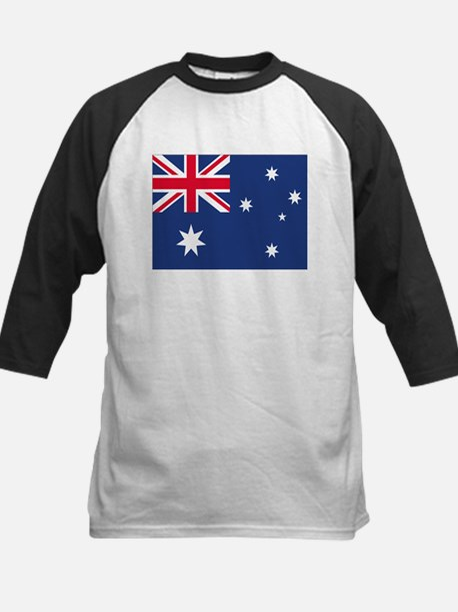 Australian Flag Kids Baseball Jersey