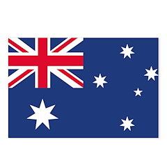 Australian Flag Postcards (Package of 8)