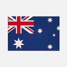 Australian Flag Rectangle Magnet